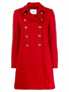 Dondup Cappotto coat - Red