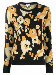 Kenzo Marigold print jumper - Black