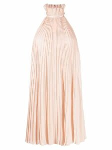 Givenchy pleated halterneck dress - Pink