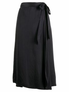 Forte Forte wrap midi skirt - Black