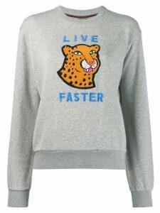 PS Paul Smith Live Faster sweatshirt - Grey