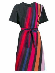 PS Paul Smith striped day dress - Red