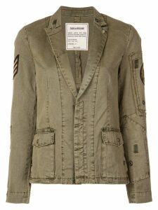 Zadig & Voltaire military blazer - Green