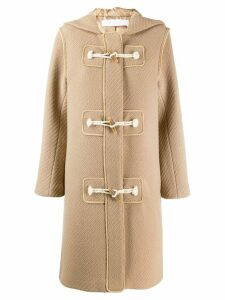 See By Chloé single-breasted coat - NEUTRALS