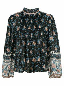 Ulla Johnson Cass floral print blouse - Blue