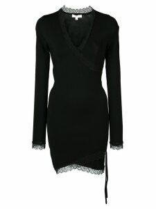 Jonathan Simkhai fitted V-neck dress - Black