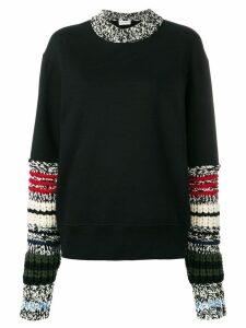 Sonia Rykiel chunky sleeve jumper - Black