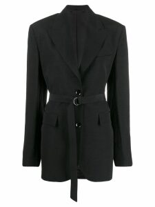 Christian Wijnants belted blazer - Black