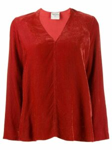 Forte Forte corduroy blouse - Red
