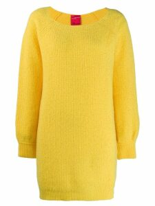 Blumarine x Salvatore Piccione knitted dress - Yellow
