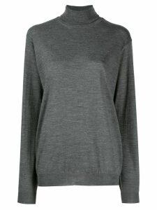 Prada oversized turtleneck jumper - Grey