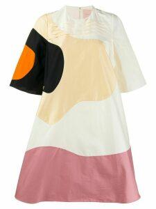 Roksanda abstract print dress - Neutrals