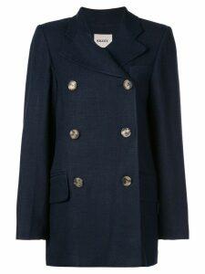 Khaite Clara double-breasted jacket - Blue