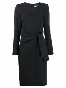 P.A.R.O.S.H. waist tie dress - Blue