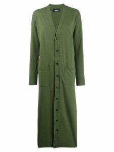 Dsquared2 long cardigan - Green