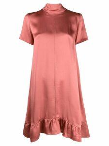 Semicouture shift dress - Pink