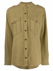 Isabel Marant Étoile flap pocket shirt - Green