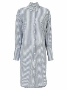 Lee Mathews Riley shirt dress - Blue