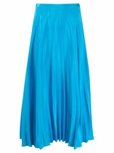 Chinti & Parker pleated skirt - Blue