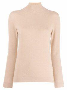 Agnona turtle neck sweater - Neutrals