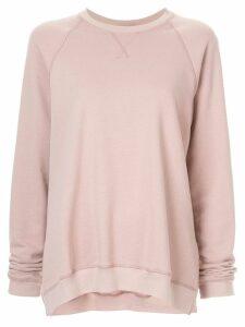 Lee Mathews crew neck sweatshirt - Pink