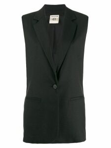 Semicouture tailored waistcoat - Black
