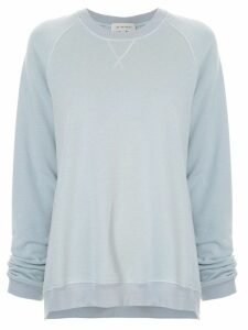 Lee Mathews Vince fleece raglan sweatshirt - Blue