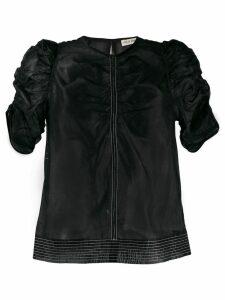 Ulla Johnson ruched T-shirt - Black