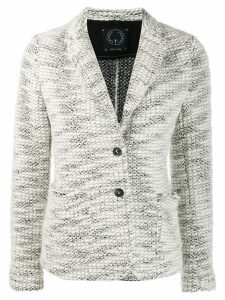 T Jacket classic fitted blazer - White