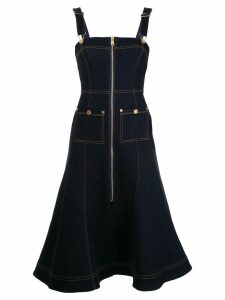 Alice Mccall Azure denim pinafore dress - Blue