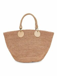 Large Beby Straw Tote