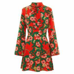 Hayley Menzies - Eden Red Mini Dress