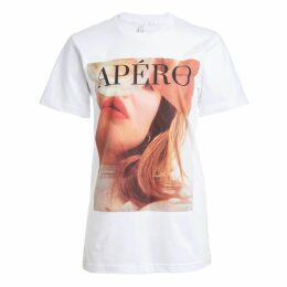 Libelula - Long Stanley Dress Pink Geometric Print