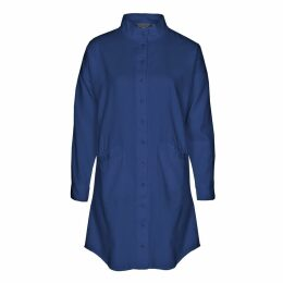 IMAIMA - Leda Shirt Dress In Blue