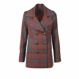VEERO - Lou Lou Clutch Black & Gold Large