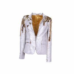 VEERO - Waves Clutch Large in Gold Black