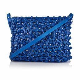 Manley - Belle Cross Body Leather Bag - Cobalt Blue