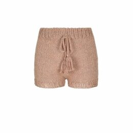 Talented - One Shoulder Button Down Blouse Navy Blue