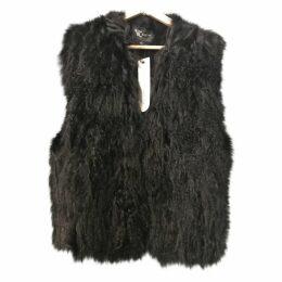 Mongolian lamb cardi coat