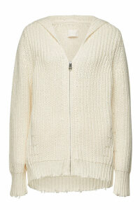 Zadig & Voltaire Cotton Cardigan with Wool