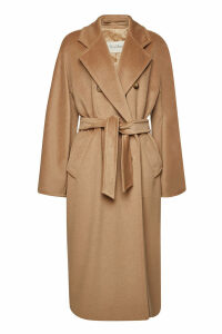 Max Mara Madame Virgin Wool Coat with Cashmere