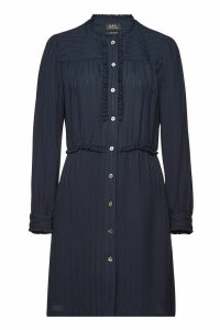 A.P.C. Mini Dress with Ruffles