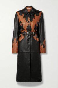 Diane von Furstenberg - Kamari Cropped Striped Stretch-jersey Top - Blue