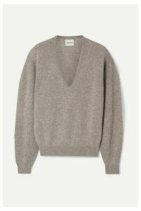 Khaite - Sam Stretch-cashmere Sweater - Light brown