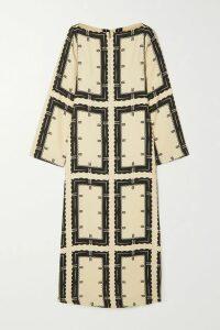 Faithfull The Brand - Emilia Floral-print Crepe Midi Dress - Red