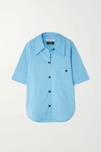 Etro - Paisley-print Silk Crepe De Chine Shirt - Green