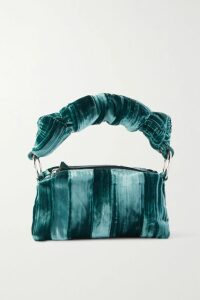 Alexander McQueen - Checked Bouclé-tweed Midi Skirt - Blue