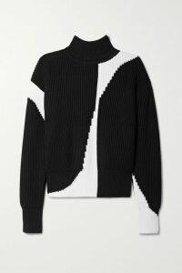 Alanui - Fringed Wool, Silk And Cashmere-blend Jacquard Cardigan - Beige