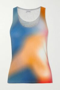 RE/DONE - Classic Printed Slub Cotton-jersey T-shirt - White