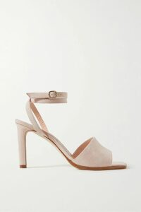 MICHAEL Michael Kors - Embroidered Crinkled-georgette Mini Dress - Navy